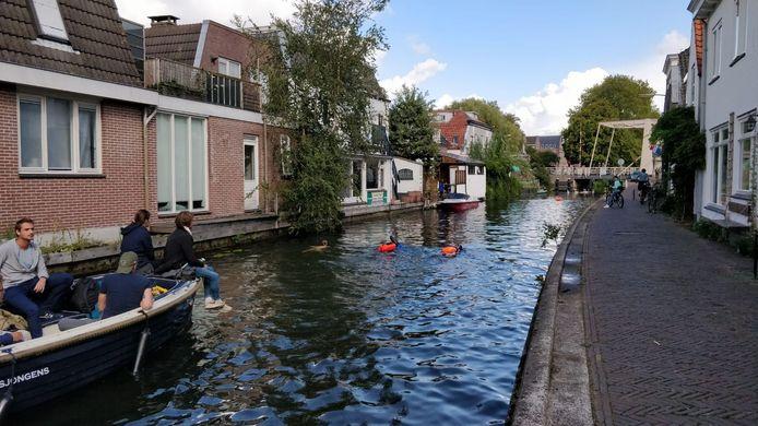 Door de wateren van Woerden.