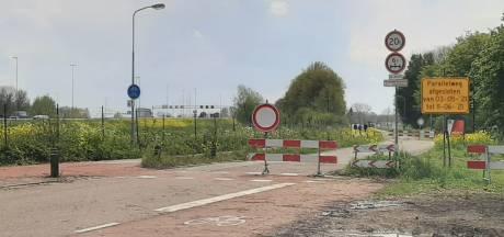 Sluiproute achter De Lucht langs bij Hedel nog tot 11 juni afgesloten