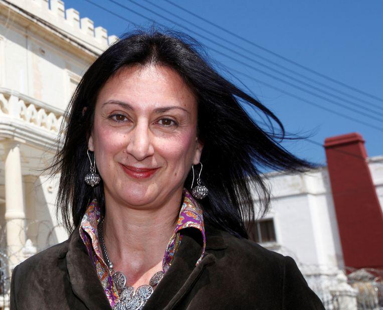 Onderzoeksjournaliste Daphne Caruana Galizia. Beeld REUTERS