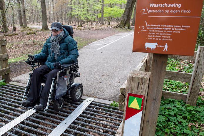 De wildroosters aan de Vijf Eiken waardoor mensen met rollator of rolstoel niet normaal naar Dorst kunnen of durven verdwijnen. De Zonnebloem en Toon Metsaars zijn blij.