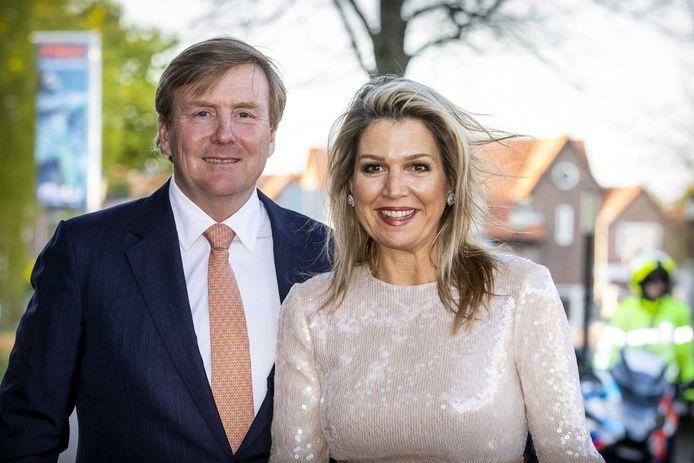 Koning Willem-Alexander en koningin Maxima bij het Koningsdagconcert in Amersfoort dit jaar.