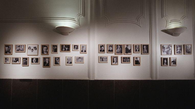Galerij van Joden voor wie Mengelberg zich heeft ingezet. Beeld EO