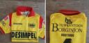 Het truitje van Daniël Maes, toen hij voor KV Oostende speelde.