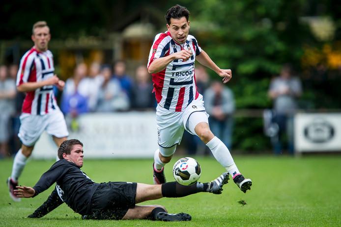 Willem II won met moeite met 4-0 van Uno Animo.