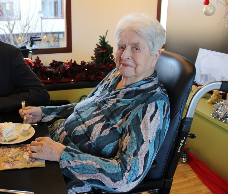 Georgette Declerck werd op 23 december al 100 jaar