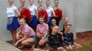 Dubbele BK-selectie voor Twirlers Sint-Martinusshowkorps Oordegem