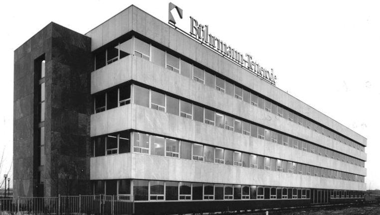 Een archieffoto uit 1993 van het hoofdkantoor van Buhrmann-Tetterode N.V aan de Paalbergweg in Amsterdam. Foto ANP Beeld