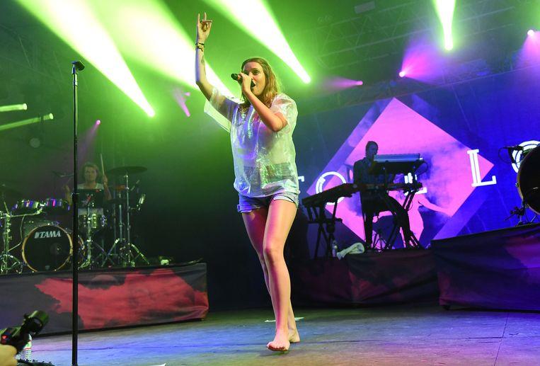 Tove Lo, eerder deze maand op het Bonnaroo Arts and Music Festival in Manchester. Beeld GETTY