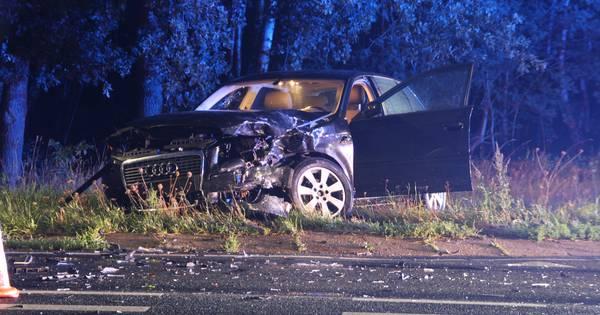Gewonde en ravage na ongeluk bij Nieuw-Heeten.