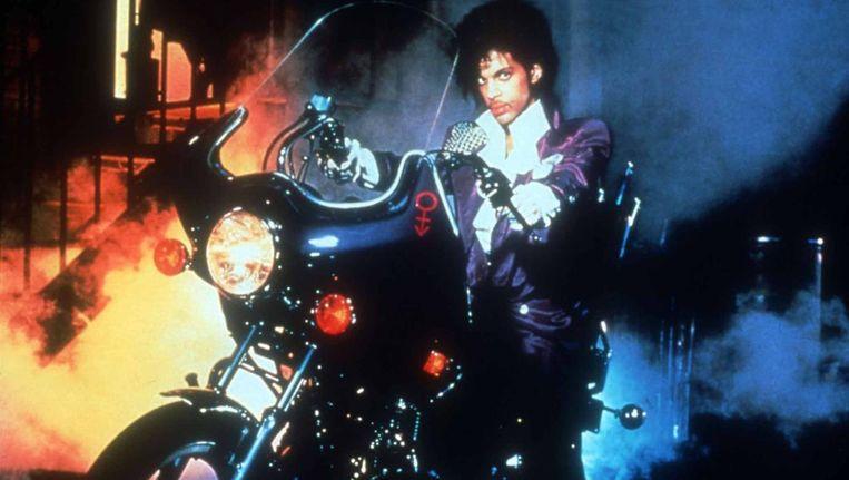 'Purple Rain', dat Prince medio jaren 80 naar de absolute top van de muziekwereld bracht. Beeld rv