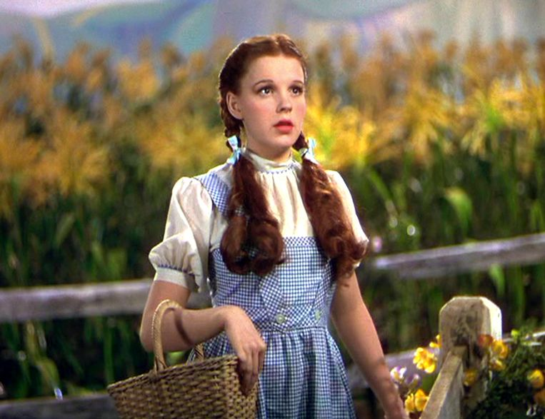 Judy Garland in 'The Wizard of Oz' (1939). Beeld Imageselect