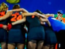 Frédérique Matla scoort voor winnend Nederland