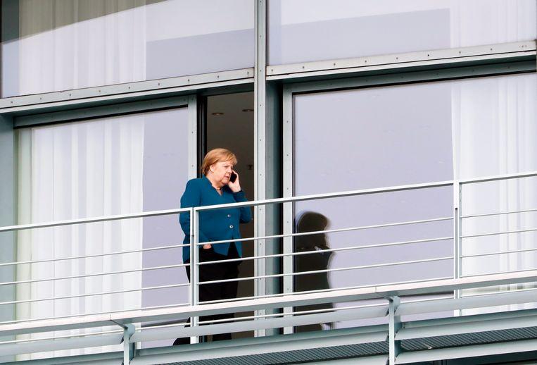 Merkel en haar regering vergaderden de hele nacht door tot er deze voormiddag een akkoord werd bereikt.