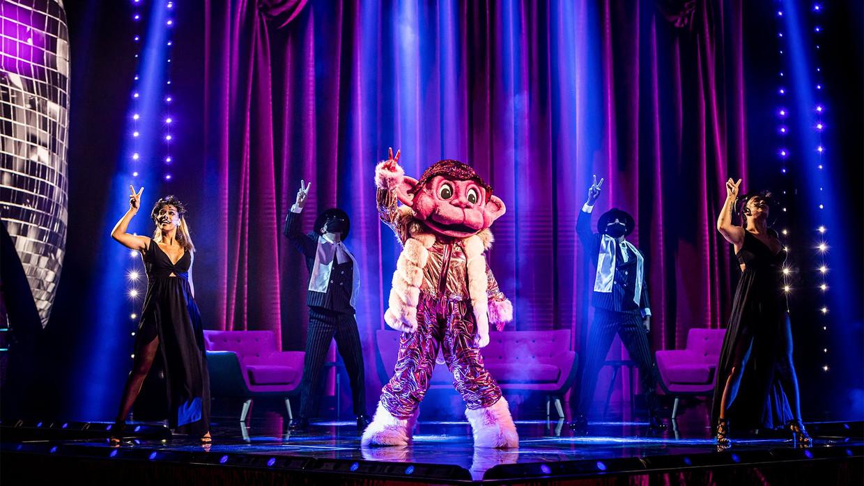 Aap in 'The Masked Singer' Beeld VTM