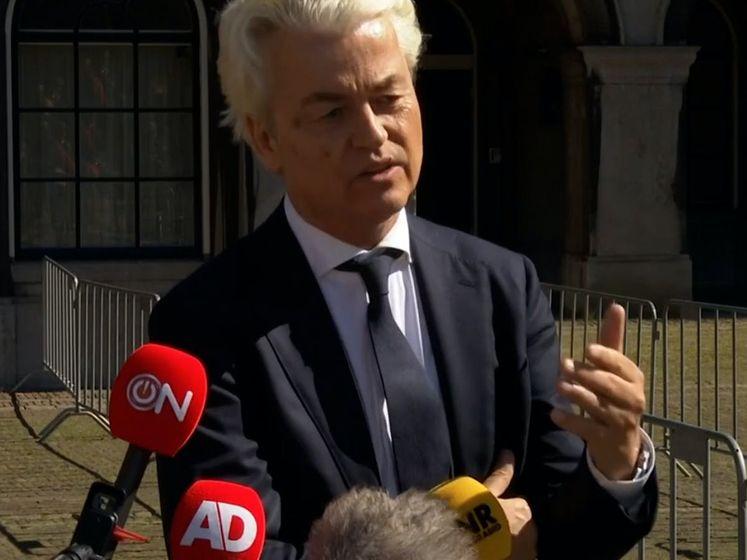 Wilders noemt formatie 'politieke poppenkast': 'Kiezer wil centrumrechts'