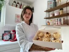 """Nikita is cupcake-bakkerij gestart in Drongen: """"Voor kinderen van 1 jaar maak ik ook taarten die ze kunnen kapotslaan"""""""