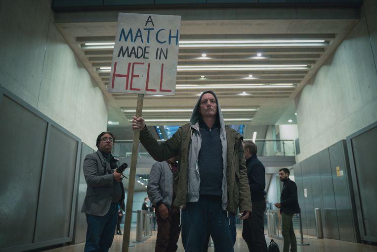 Scène uit 'The One'. Beeld Netflix