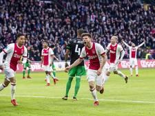 Ajax 'onverslaanbaar' tegen Feyenoord, Huntelaar pakt record