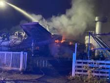 Les images spectaculaires de l'avion de Gilly en feu, une enquête est ouverte