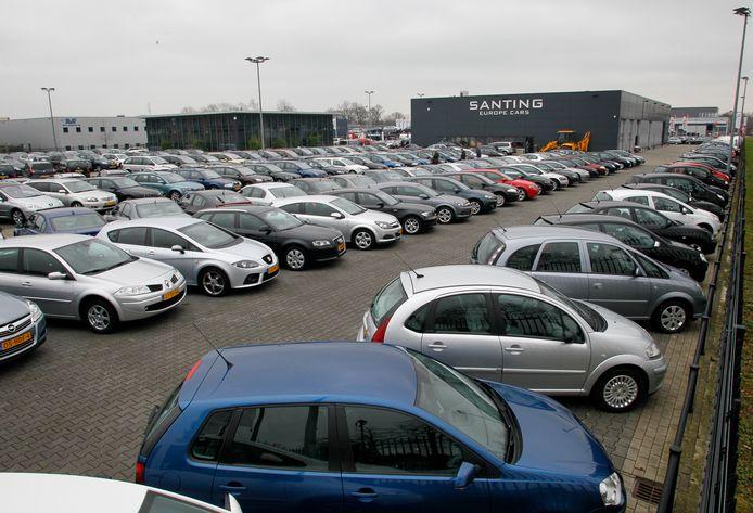 Santing Europa Cars in Vaassen is failliet.