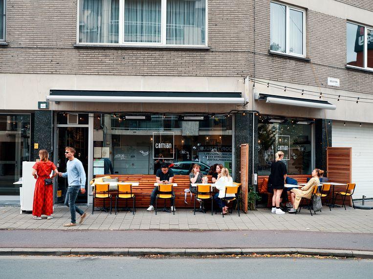 Restaurant Camion in Antwerpen. Beeld Hannes Vandenbroucke