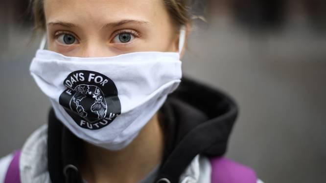 Klimaatactiviste Thunberg roept Amerikanen op om op Joe Biden te stemmen