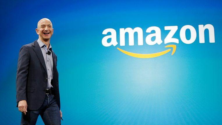 De topman van webwinkel Amazon Jeff Bezos. Beeld ap