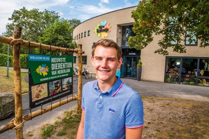 Tim Reimes weet nog niet waar hij later terecht zal komen. Maar het liefst in Eibergen, waar hij is opgegroeid.