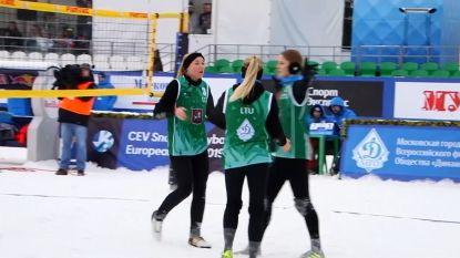 VIDEO. Snowvolleybal nieuwe olympische sport?
