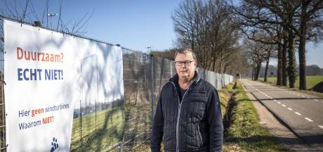 Waarschuwing in Dinkelland: 'Zo kan iedereen zien wat het betekent als er windmolens staan'