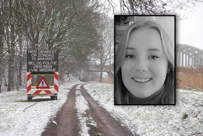 Lotte werd dood gevonden aan de rand van Almelo.