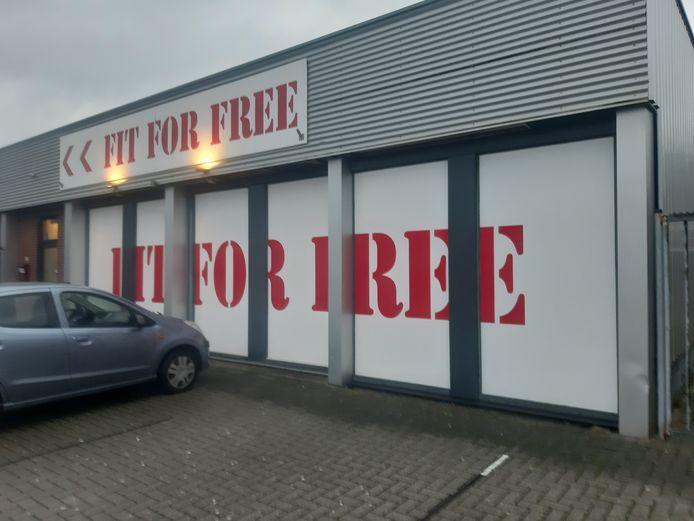 De vestiging van Fit For Free aan de George Breitnerstraat in Almelo