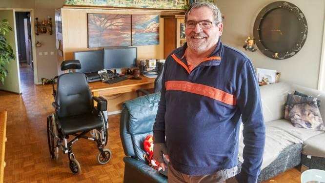 Het wonder van Frank: na acht jaar in een rolstoel kan Ossenaar weer lopen, met dank aan corona