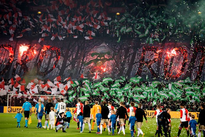 Een volle Kuip bij Feyenoord - Ajax. Het is nog maar de vraag of we dat volgend seizoen te zien krijgen.