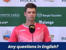 """""""Y a-t-il des questions?"""": gros malaise lors de la conférence de presse de Hubert Hurkacz"""