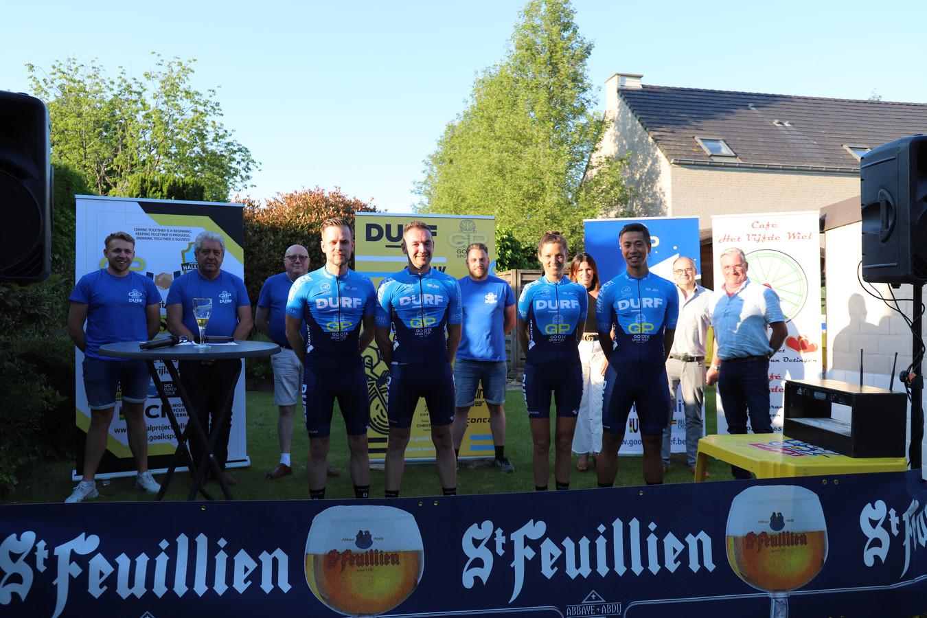 DURF Vélo en Gooik Sportief verbroederen om samen uitdagingen te organiseren.