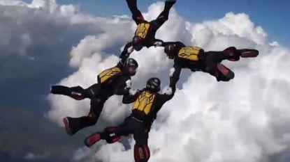 Belgische skydivers zijn beste ter wereld