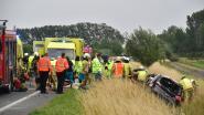 7 mensen naar ziekenhuis na alweer zware klap op N58 in Wervik