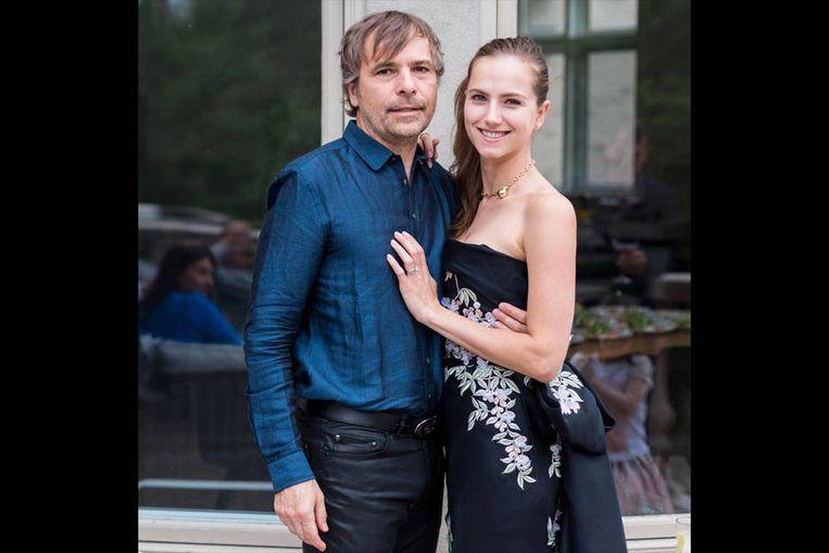 Rod Baker en vrouw. Beeld rv