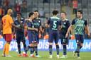 PSV is blij na het succes in Turkije. Volgende week dinsdag wacht FC Midtjylland in het Philips Stadion.
