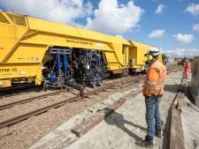 Het nieuwste van het nieuwste apparaat legt spoor SGB strak