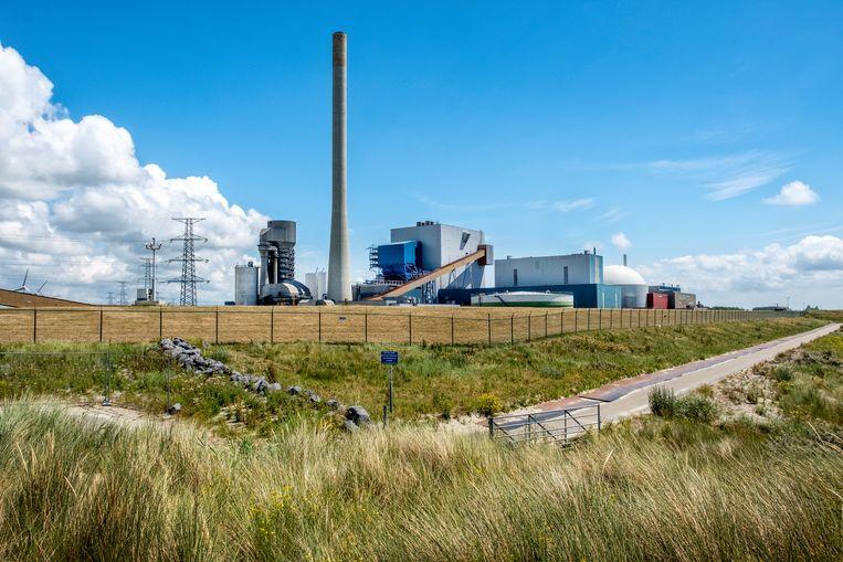 De Kerncentrale Borssele bij de gelijknamige plaats in Zeeland. Beeld Raymond Rutting / de Volkskrant