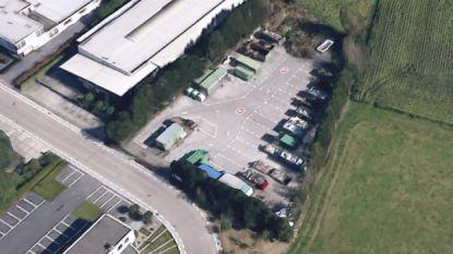 Diefstal in containerpark Laarne