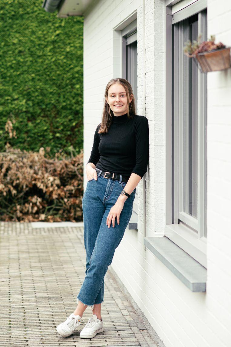 Julie Wouters Beeld Tine Schoemaker