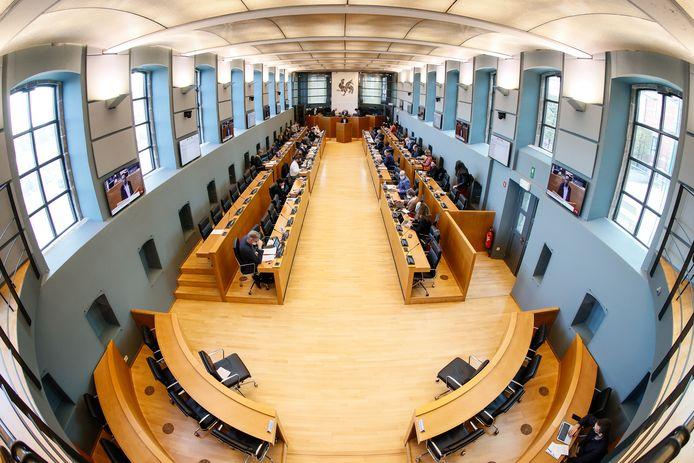 Le Parlement de Wallonie à Namur.
