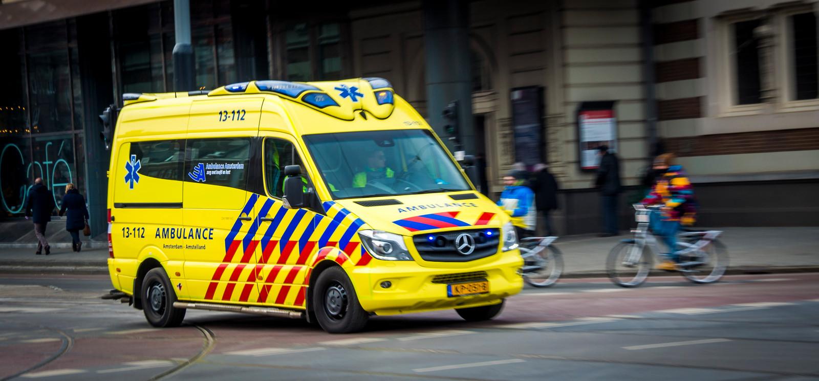 Ambulancevervoer in Amsterdam (foto ter illustratie)