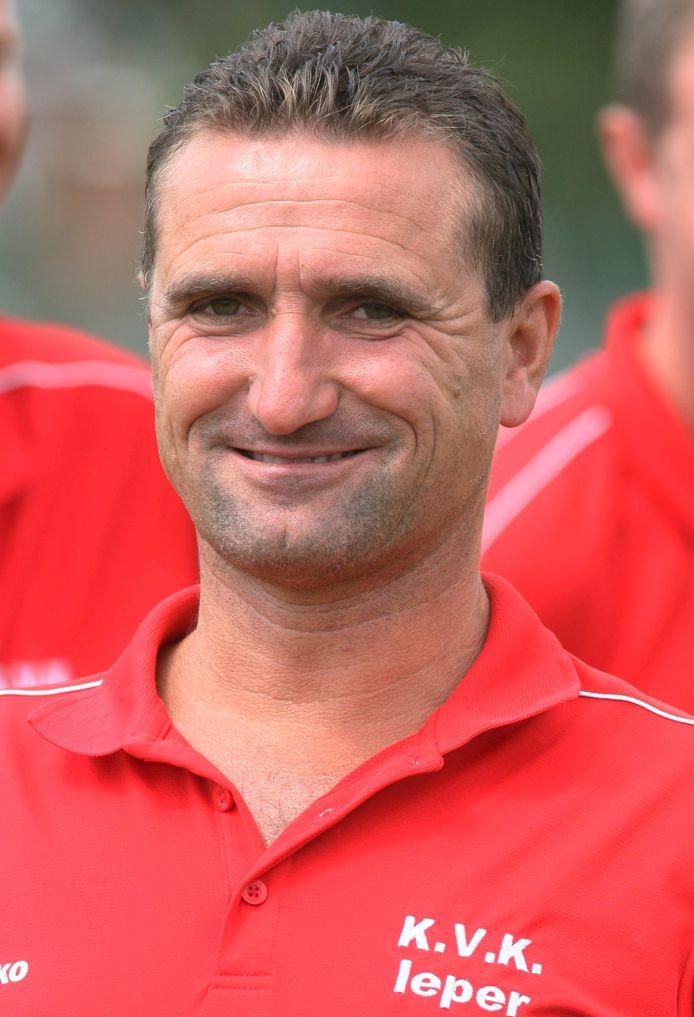 Ieper : Trainer Geert Vuylsteke