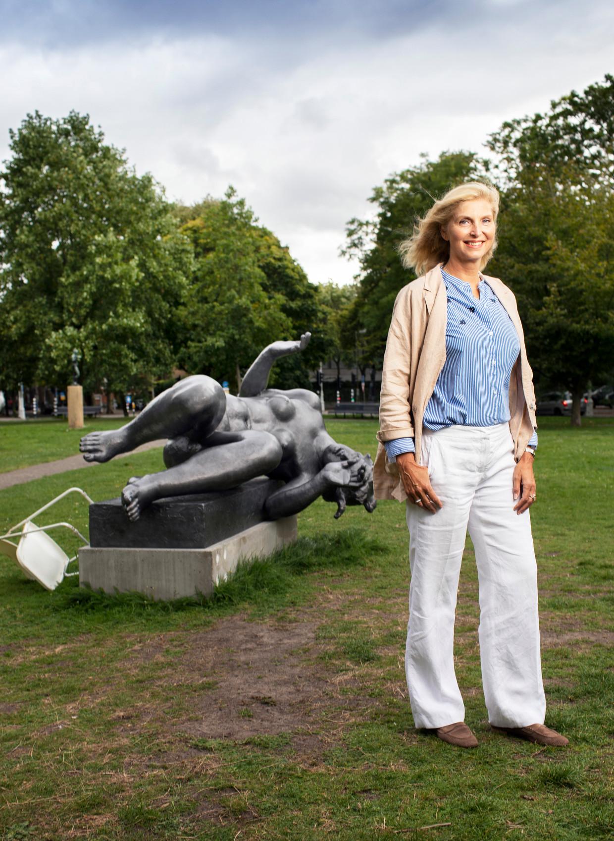 Cintha van Heeswijk op de Klapstoel