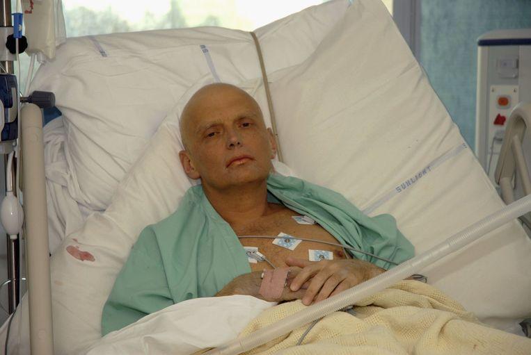 De dissidente KGB-kolonel Aleksandr Litvinenko stierf in 2006 in Londen aan een vergiftiging met het radioactieve polonium. Beeld getty