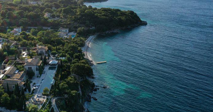 Het eiland Corfu.